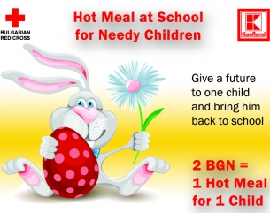 Hot Meal at School for Needy Children